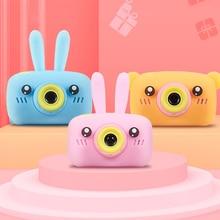 Portable Child Camera HD Digital Camera 2 Inch Cute Cartoon Camera Toys Children Birthday Gift 1600w
