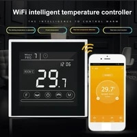 90-240V WiFi Smart Thermostat Electric Floor Heating Temperature Home Temperature Remote Controller Work with Tuya Alexa