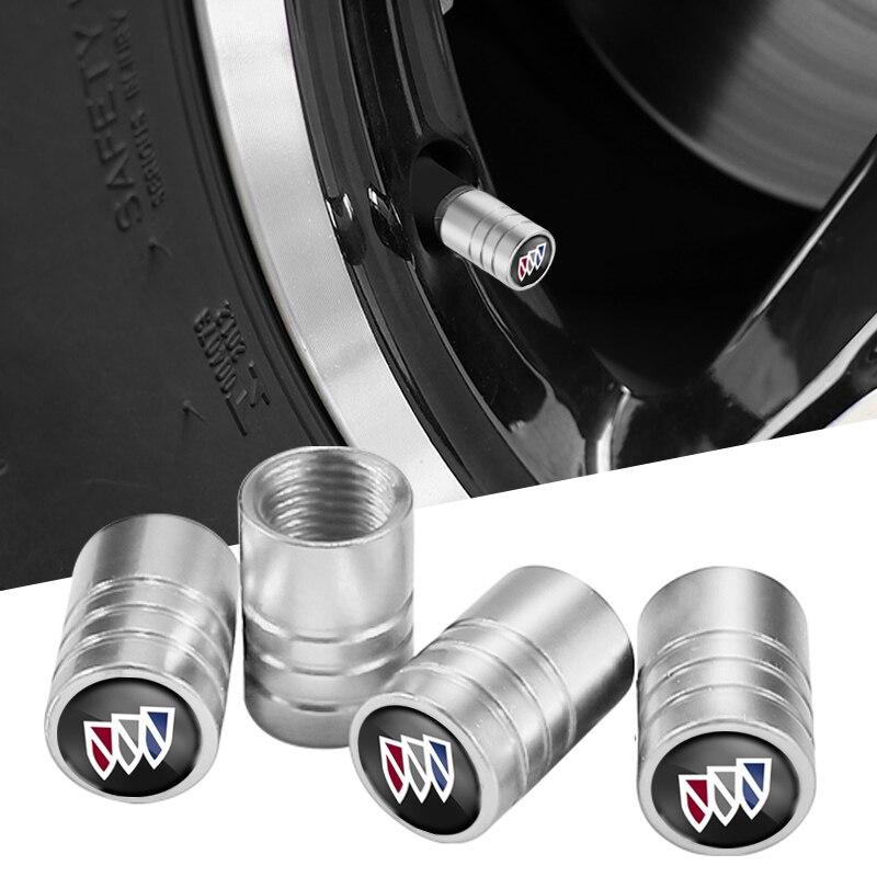 Juego de tapas de válvula de neumático de rueda de Metal, accesorios...