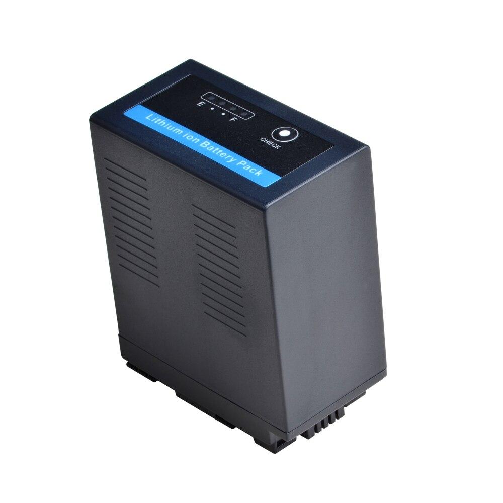 1 pc VW-VBG6 vwvbg6 7800 mah bateria com indicatoor de energia led para panasonic AG-AC7,AG-AC160A,AG-AF100, ag-130,AG-HMC154ER hmc154gk