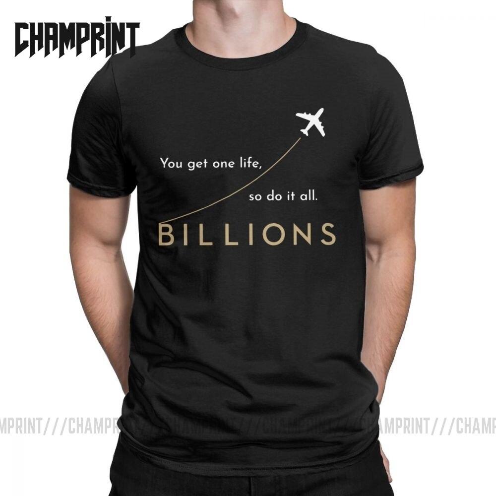 Los miles de millones que una vida, así que ¿Todo T camisas Rhoades de Tv riqueza monetaria de algodón de manga corta Camiseta de talla grande camisetas