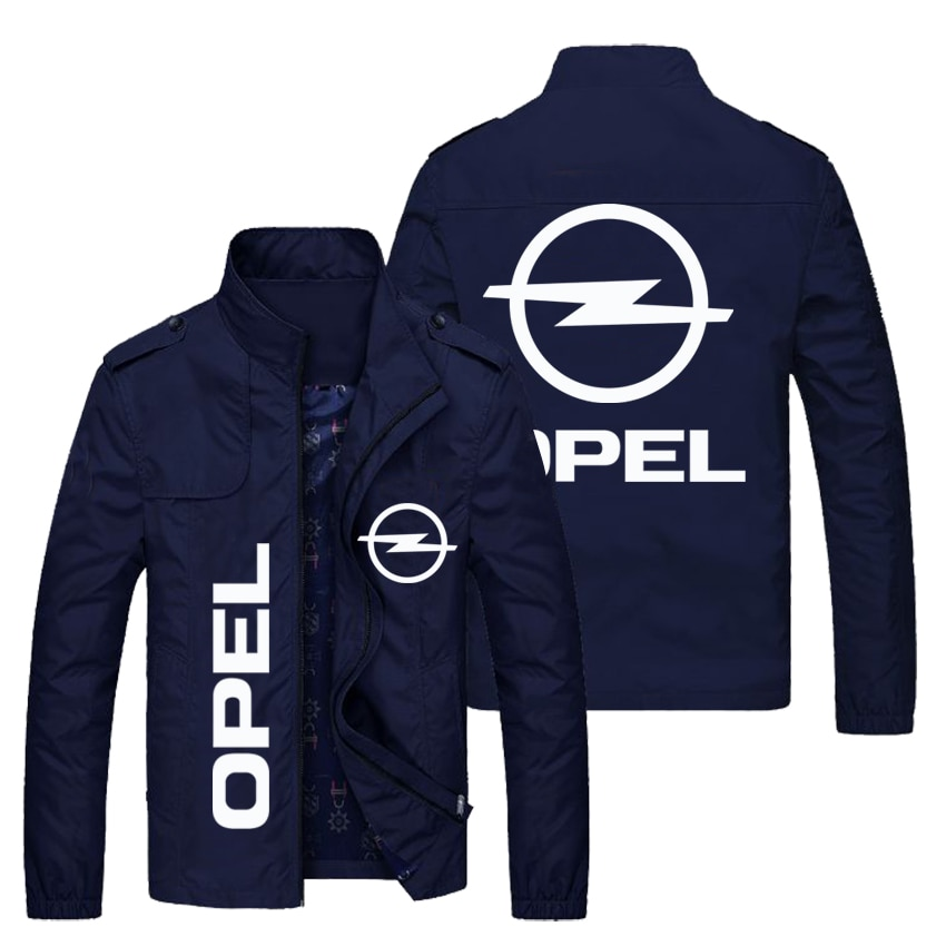 OP soft shell jacket, fashion car logo LOGO customized men's stand-collar polyester jacket, women's jacket and large size sports