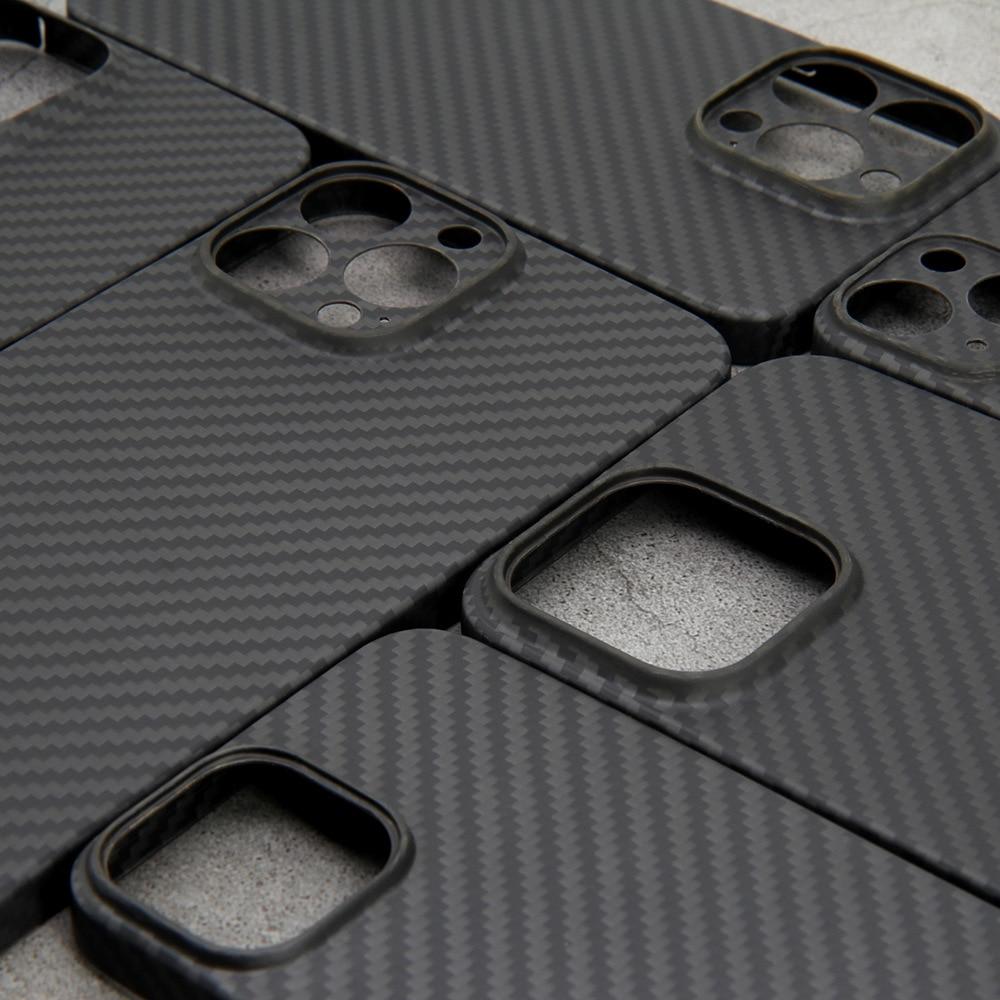 Чехол из настоящего углеродного волокна для iPhone 13 Pro Max, чехол для iPhone 13 Mini