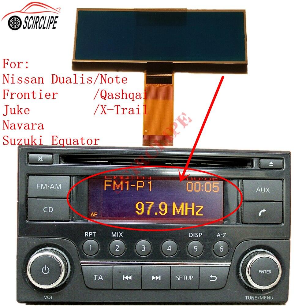 Radio de coche para Deawoo AGC-0071RF, reparación de píxeles de pantalla LCD para Nissan Qashqai x-trail Frontier juke Dualis Navara Suzuki Equator