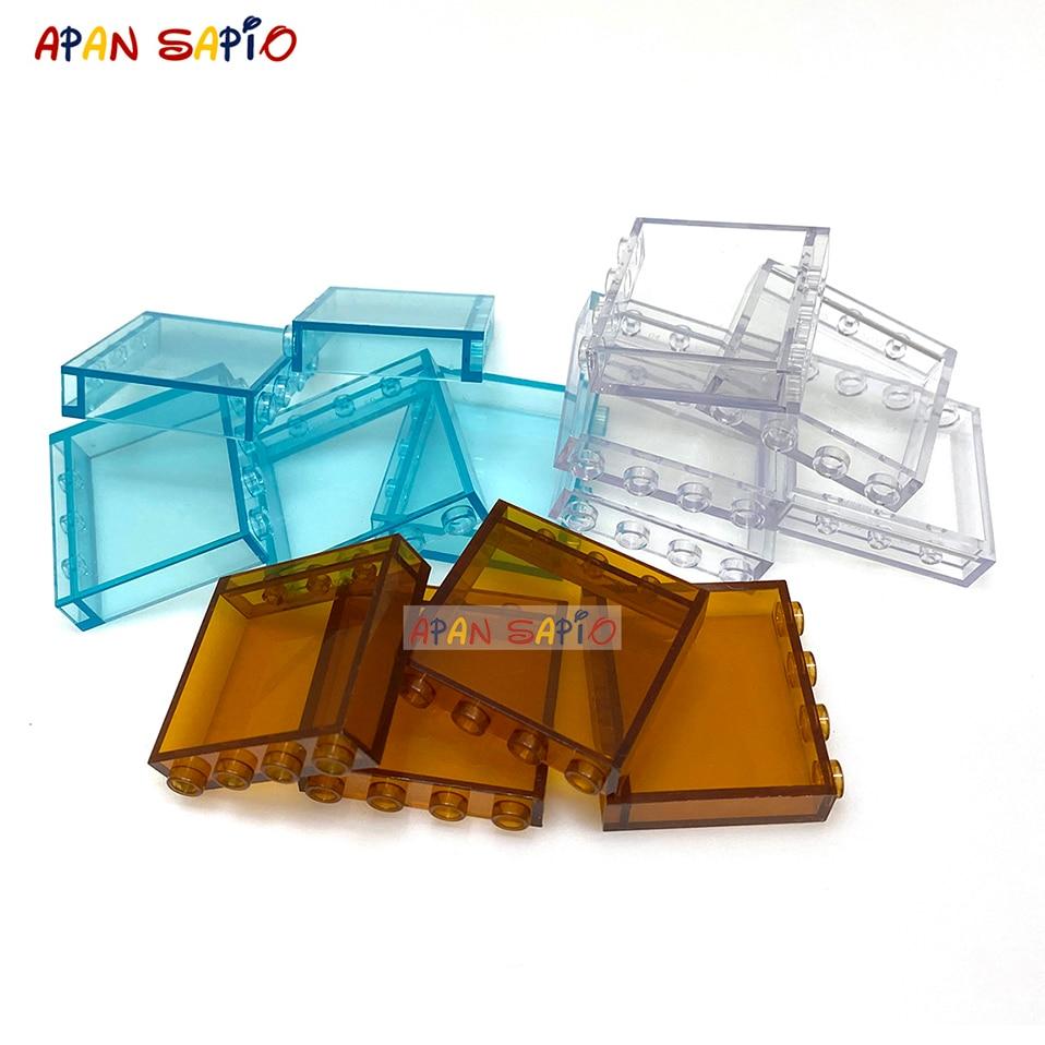Конструктор «сделай сам» 50/100 шт., прозрачный кирпичи-пластины, образовательный пластик, Совместимые бренды, детские подарки, игрушки для де...