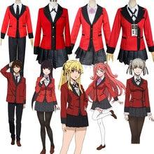 Anime Anime00Cosplay Costume Jabami Yumeko Cosplay Costume Japanese High School Uniform Girls Clothe