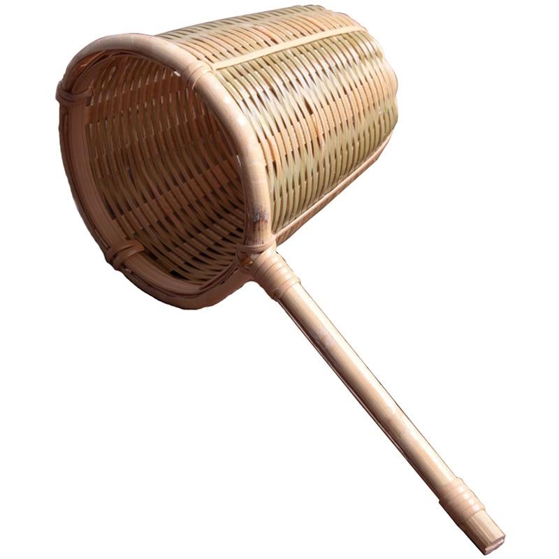 Colador de filtro de té de bambú natural, Infusor de colador, artesanías de tejido hecho a mano, herramienta de té novedosa, utensilios de té Kung Fu, regalo