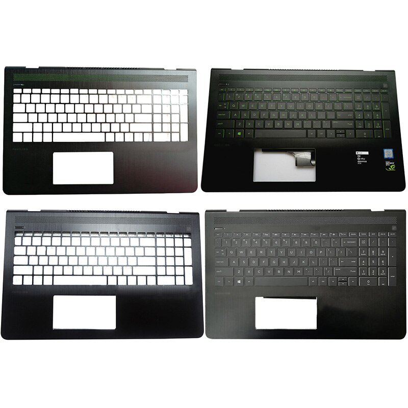 95%NEW For HP Pavilion Power 15-CB 15-CK TPN-Q193 TPN-C201 15-cb035wm Laptop palmrest upper case Backlit keyboard 926894-001 original new for hp 15 cs 15 cw series laptop palmrest upper case us backlit keyboard touchpad l24752 001 sliver