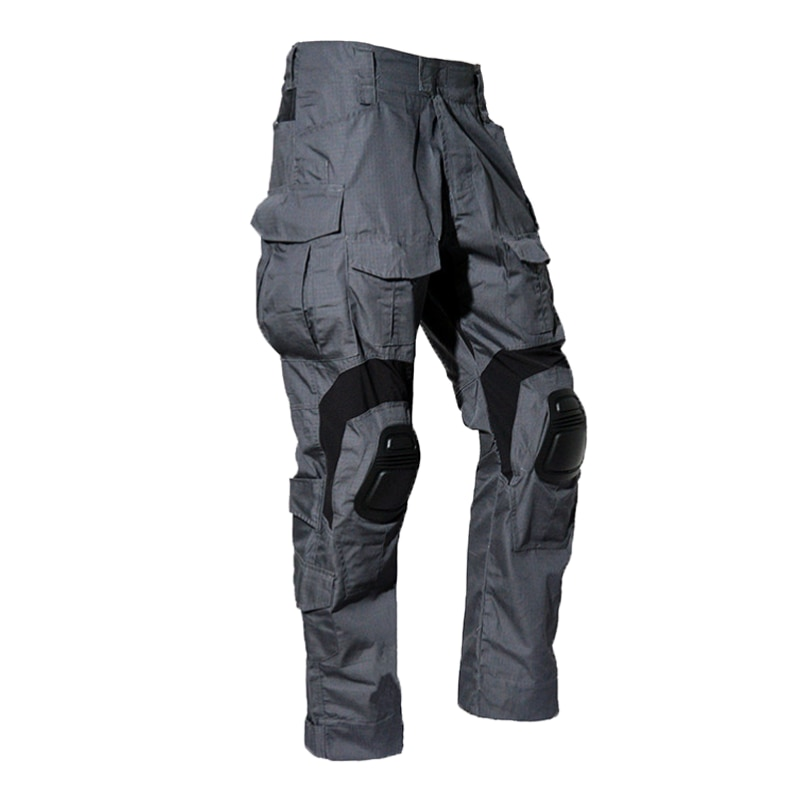 Tactical Camouflage Military US Army Cargo Pants Work Clothing Combat Uniform Paintball Multi Pockets Airsoft Clothes Knee Pads