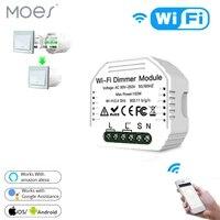 diy smart wifi light led dimmer switch smart lifetuya app remote control 12 way switchworks with alexa echo google home