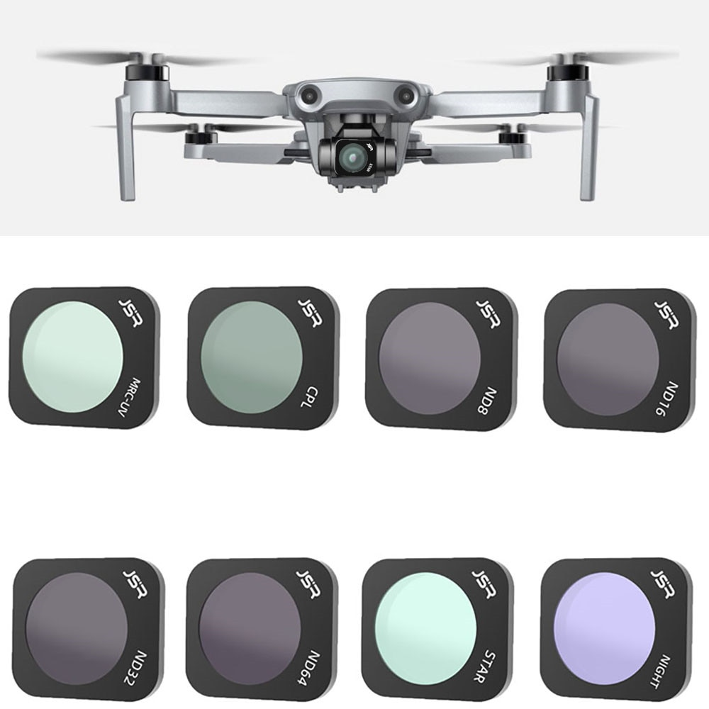 Filtro de zangão para hubsan zino mini pro estrela/cpl/nd4/nd8/nd16/noite/nd8pl/nd16pl/nd32pl/nd64pl câmera lente acessórios conjunto