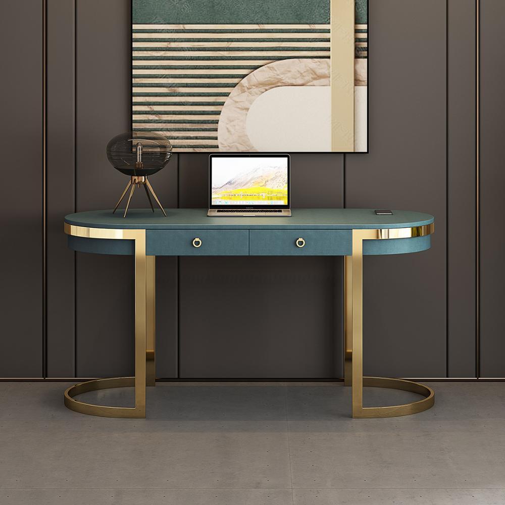 Mesa de escritório branco mesa de escritório recitador de entrada mueble mesa de estudo escrivaninha biurko scrivania mesa de piquenique