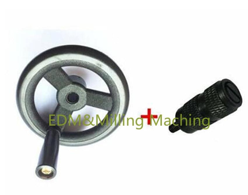 CNC Milling Machine Parts B125+126 Hand Wheel Forward Feed Reverse Knob Assembly For Bridgepor