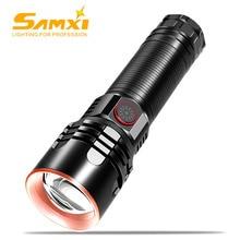 High Power Rechargeable LED Flashlight 3 Lighting Modes Lantern Self Defense Shocker Torch Bike Lamp Flashlight By 18650