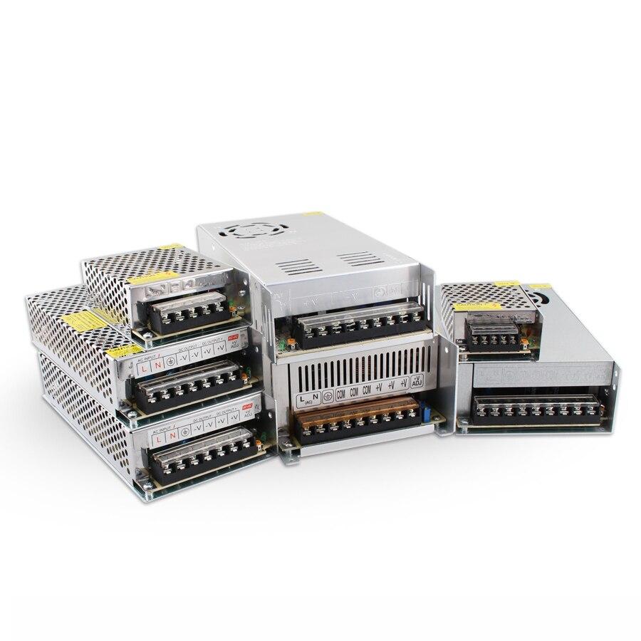 AC DC 5V 12V 24 V 36V 48V fuente de alimentación de conmutación 5 12V 24 V 3A 5A 10A SMPS 220V a 12V 5V fuente de alimentación de la fuente de alimentación 24 V 36V 48V 48V 500W