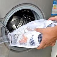 Durable Washing Shoes Mesh Net Air Bag Pouch Washing Machine Cleaning Laundry Case Laundry Bag Case Shoe Hanging Bag TSLM1