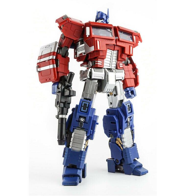 Nueva transformación DaBan 9907 OP comandante camión deformación Commader OPtimus Primal acción figura Robot juguetes con caja