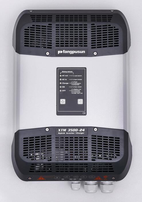 fangpusun solar pure sine wave hybrid inverte battery  charger 30A 50A 60A 70A 80A 90A  3000w 3500w 24V enlarge