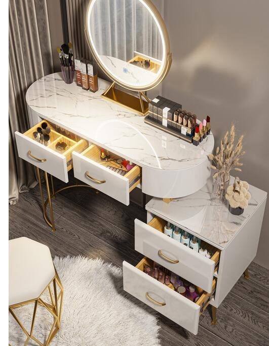 خزانة بجانب السرير لغرفة النوم ، خزانة مدمجة على شبكة الإنترنت ، من الخشب الصلب ، للعائلة الصغيرة ، خزانة فاخرة متعددة الوظائف