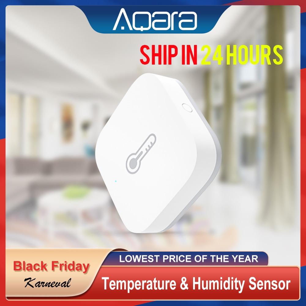 Aqara Zigbee Wireless Temperature Humidity Sensor For Smart Home Kit Thermometer Hygrometer Mijia Temperature Humidity Sensor