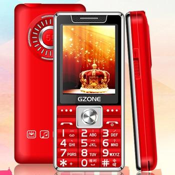 A total of M499 candy bar large font big button big screen big sound big battery one key flashlight dual card mobile phone