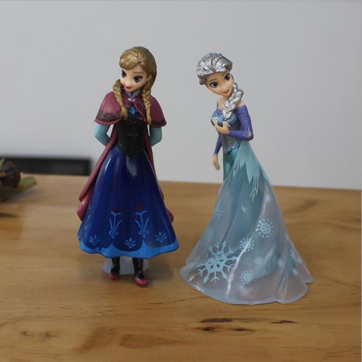 Sirena Aisha Anna Alice princesa decoraciones torta de cumpleaños escena Decoración Juguetes