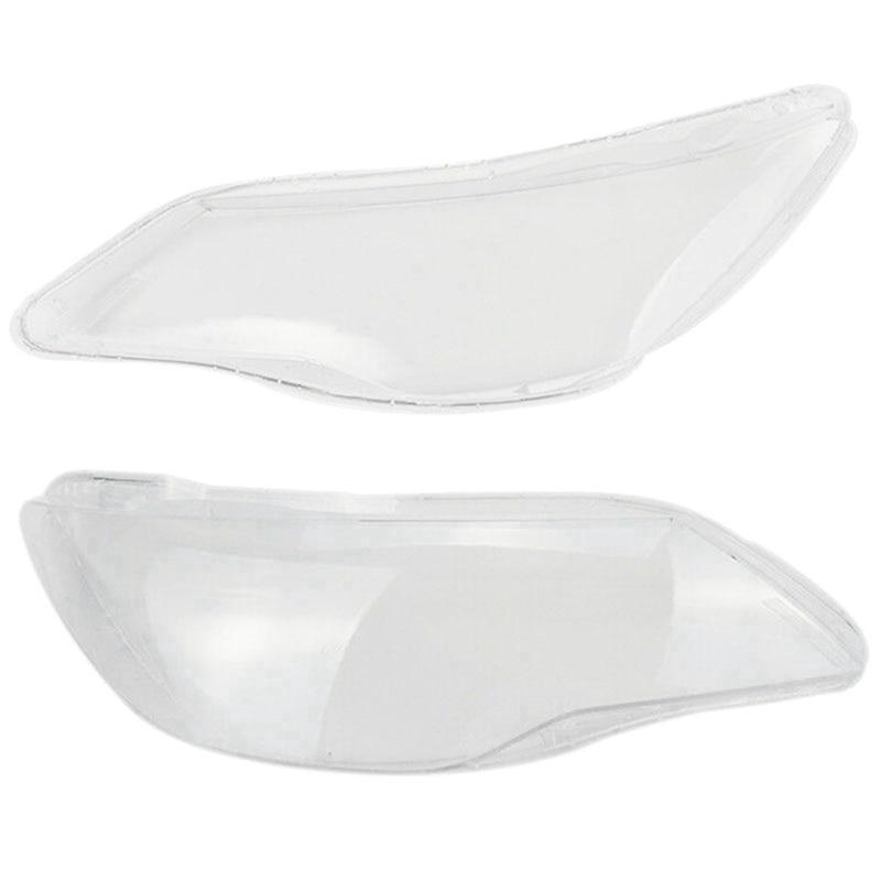 غطاء المصباح الأمامي للسيارة ، 2 قطعة ، لهوندا سيفيك FD ، أمامي ، يمين ، يسار ، عدسة شفافة ، غطاء ، غطاء ، 2006 ، 2007 ، 2008
