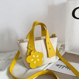 2021 New Women's Bag Korean Women Bag Partysu Shoulder Bag Messenger Bag Mini Portable Bucket Bag Cute Women Bag