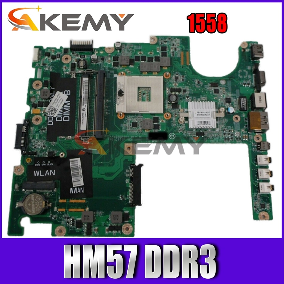 Akemy للاستوديو 1558 DAFM9BMB6D0 اللوحة المحمول 0G936P 0G936P G936P HM57 DDR3 اختبار
