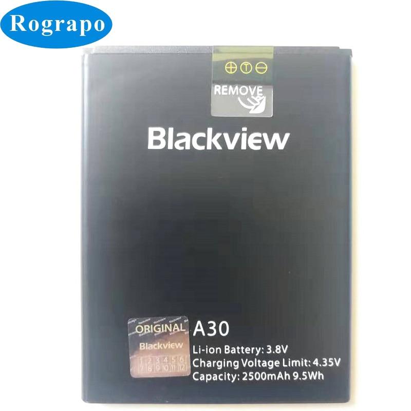 Original 2500mAh A30 Replacement Battery For Blackview A30 5.5inch Mobile Phone Batteries Bateria Ba