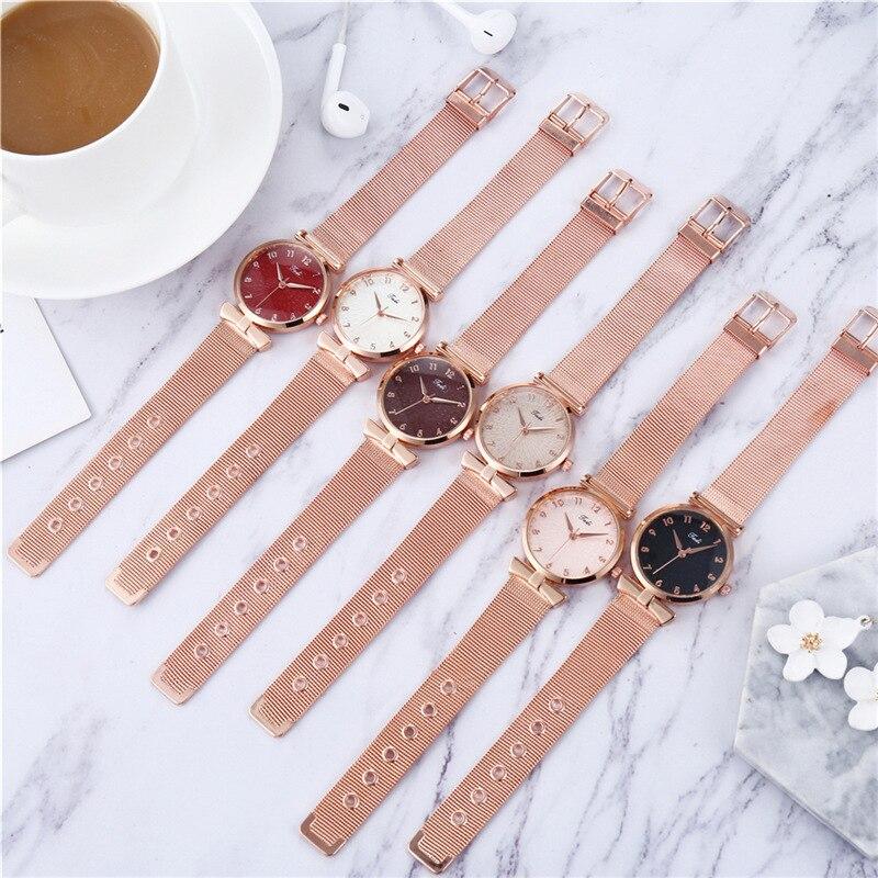 YUNAO 2021 Trendy Fashion Women's Watch Creative New Women's Watch Hot-selling High-end Casual Quartz Watches enlarge