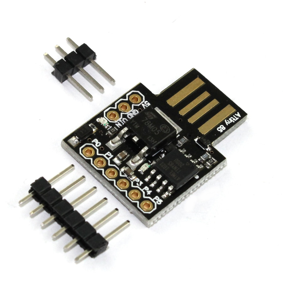 ATTINY85 Digispark Kickstarter Miniature For Arduino Attiny85 Digispark Kickstarter Micro Usb Development Board Diy Electronic недорого