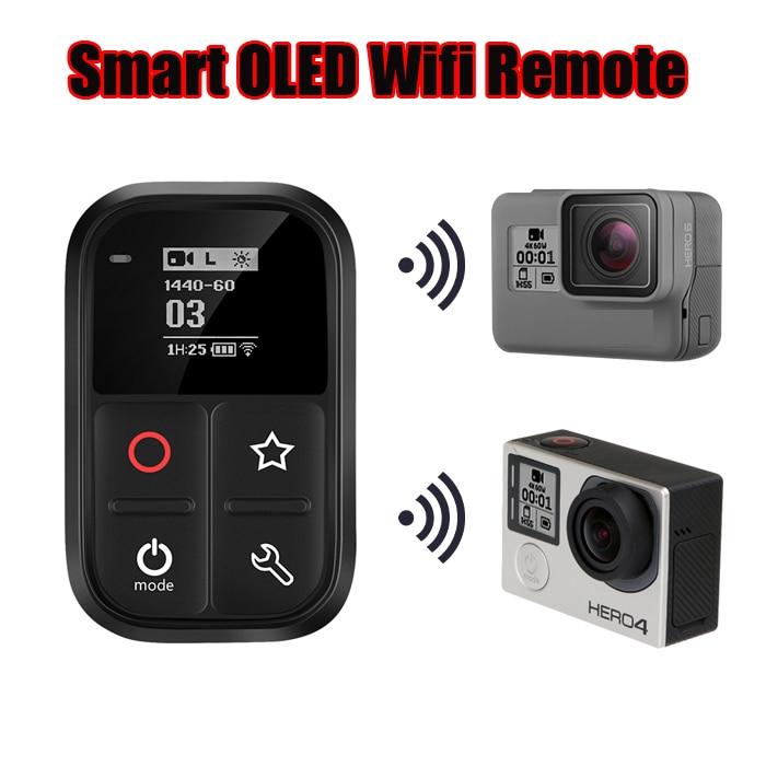 جديد ل GoPro بطل 7 8 للماء 60m Wifi التحكم عن بعد ل الذهاب برو بطل 5 6 7 8 أسود 4 جلسة 3 3 + كاميرا الملحقات