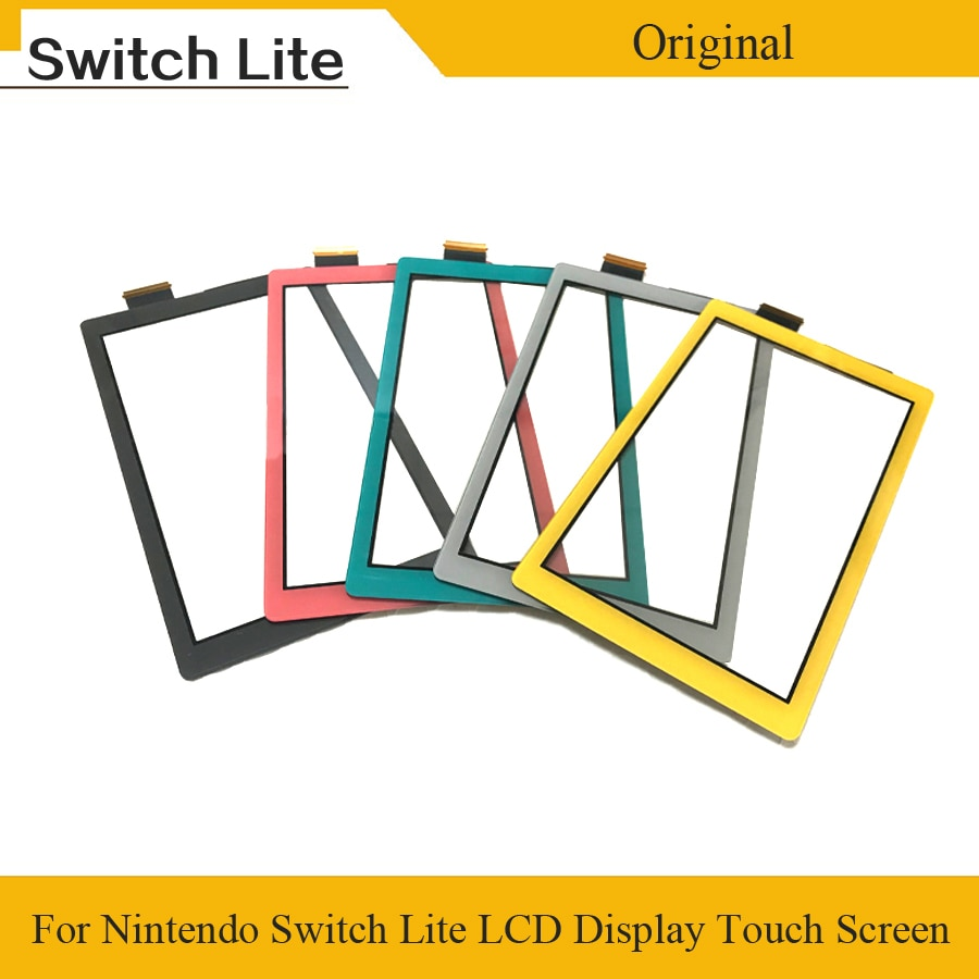 Original Plastic LCD Display Touch Screen for Nintend Switch Lite Touch screen Digitizer for Switch NS Cover Panel Game Console недорого