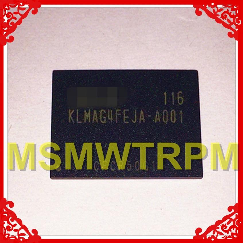 KLMAG4FEJA-A001 BGA169Ball EMMC 16GB Mobiltelefon Speicher Neue original und Gebraucht Gelötet Bälle Getestet OK