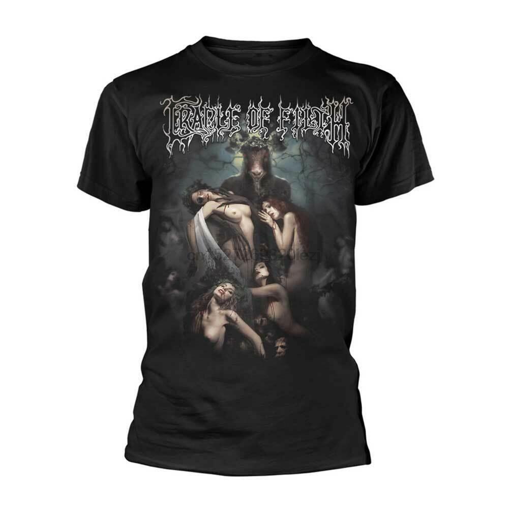 Cradle Of filth młot na czarownice T Shirt nowy