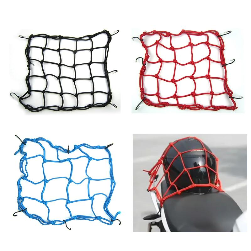 Motorcycle Bike Helmet Luggage Net Cargo Net  With Hook For suzuki escudo gsx s1000 gsxs 1000 gsr 600 gsx600f ltz 400 rm 125