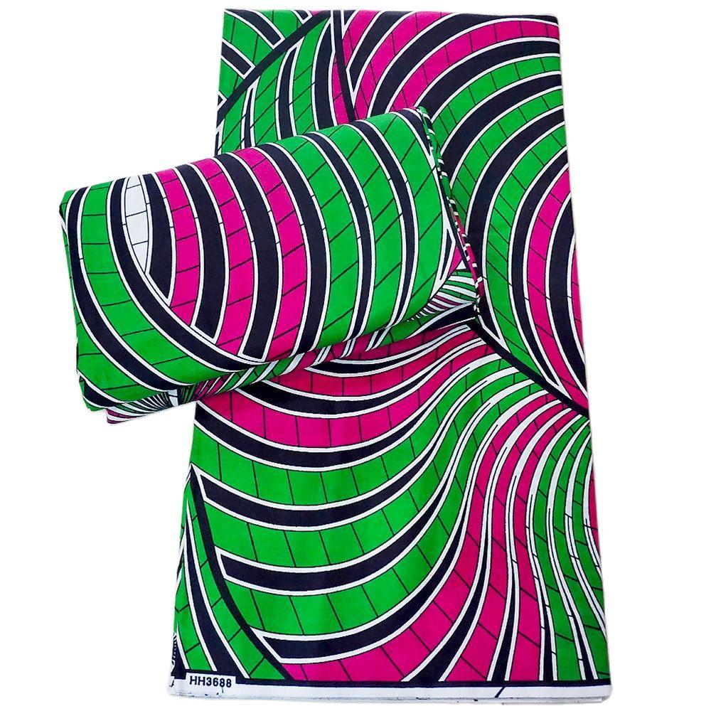 African Prints Batik 6yard Real Wax Fabric Africa Wedding Dress Crafts Material 100% Cotton Ankara High Quality Tissu недорого