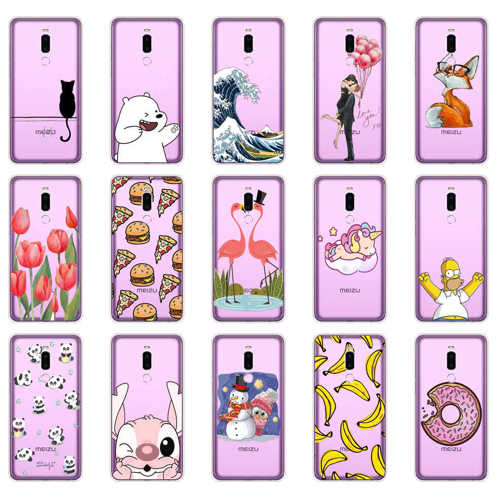 Carcasa Para Meizu Note 8, carcasa suave de silicona TPU Para teléfono móvil, carcasa trasera Para Meizu M8 Note, carcasas, Fundas Para