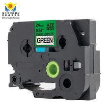 compatible 24mm Laser Hologram dazzling color change label tape for Brothers label printers promotion