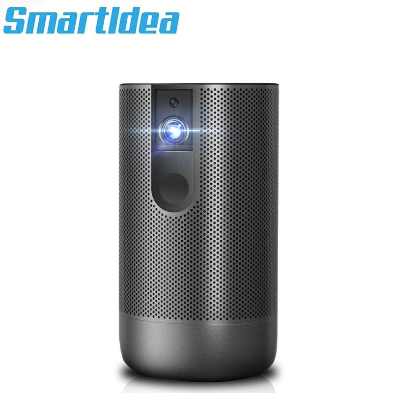 Smartldea-Proyector portátil D29, 3D, dlp, nativa, Full HD, 1920, 1080p, portátil, Android,...