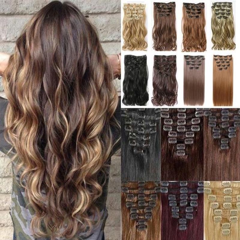 MERISI HAIR 22 Синтетические прямые волосы, термостойкие светлые, серые, светлые женские волосы для наращивания на заколках, Омбре