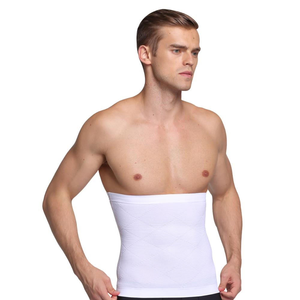 Men's Waist Trainer Body Shaper Belt Gym Slimming Corset Belly Abdomen Sauna Belt Fat Burning Loss Sweat Shapewear MS046 slimming belt belly men slimming vest body shaper neoprene abdomen fat burning shaperwear waist sweat corset weight