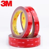 car special double sided tape 3m grey strong adhesive tape sticker for car home office bathroom decoration 61020304050mm