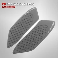 motorcycle anti slip tank pad sticker pad side gas knee grip protector for for yamaha yzf r6 yzfr6 600 2006 2007
