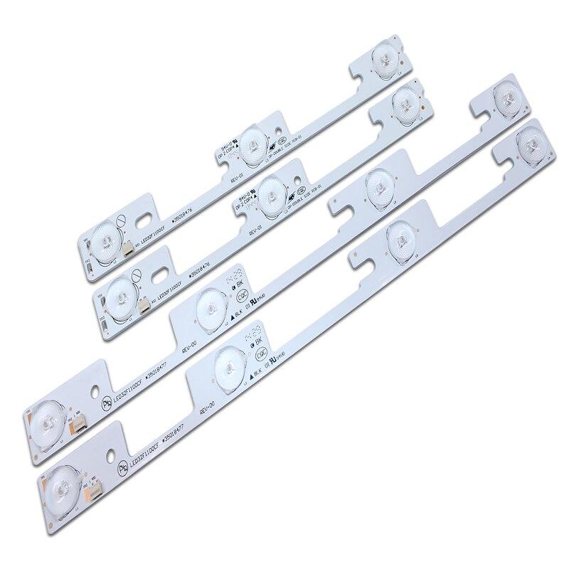 40 قطعة (20X4 المصابيح * 3 V + 20X3 المصابيح * 3 V) جديد ل كونكا LED32F1100cf ضوء بار 35018476 35018477
