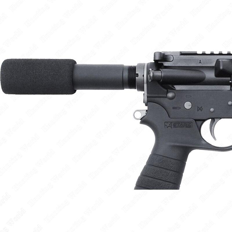 """Тактический. 223 5,56 Mil AR-15 M16 пистолет буферная трубка с 3,5 """"пенопластовым покрытием"""