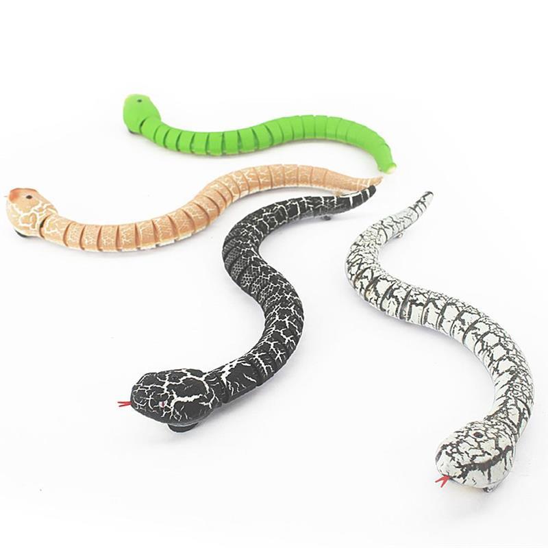 Инфракрасная искусственная игрушка, имитация змеи, страшная игрушка-розыгрыш, подарки на Хэллоуин для детей и взрослых