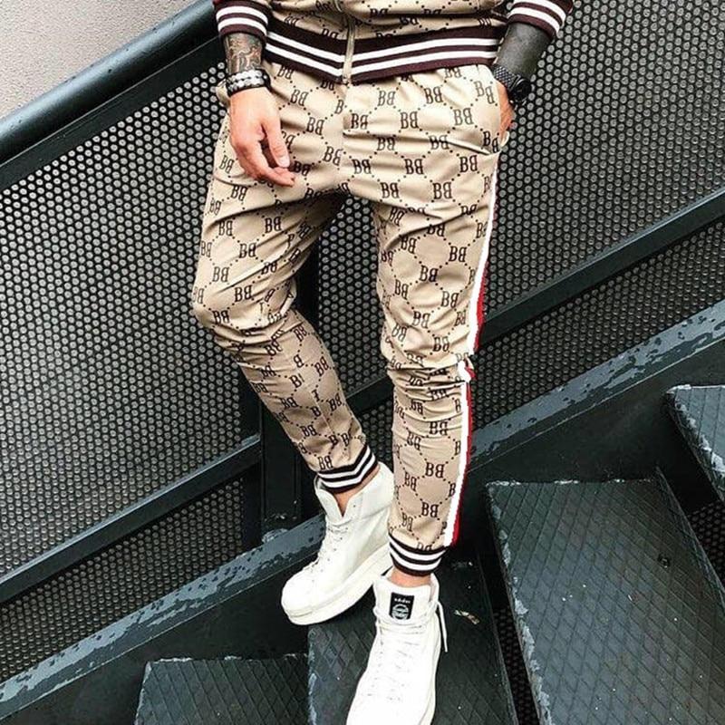 Спортивный костюм мужской s повседневные брюки для пробежек, спортивная одежда, облегающие брюки для фитнеса, тренировочные штаны, джоггеры