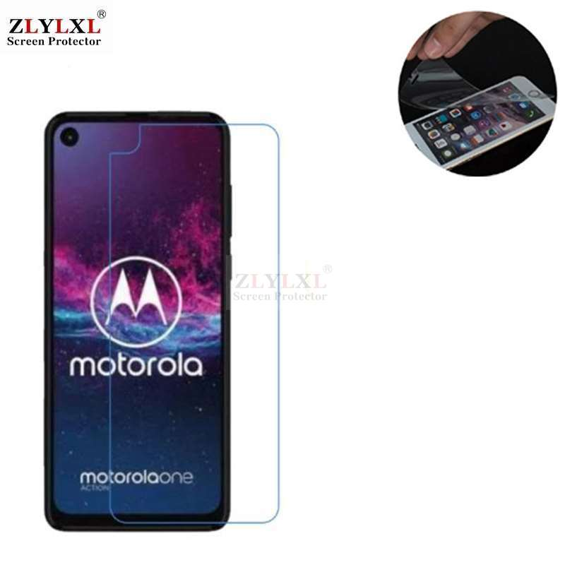 5 pcs alot soft Scratch Proof HD film screen protector for Motorola Moto One Action